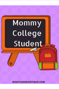 Mommy College Student