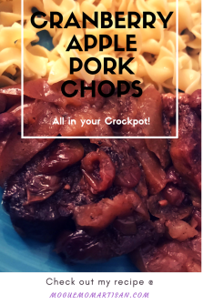 CranberryApplePork Chops