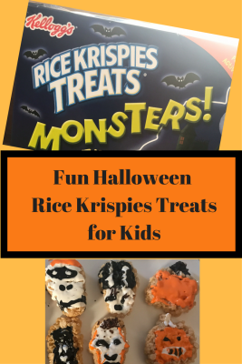 Fun Halloween Rice Krispies Treatsfor Kids