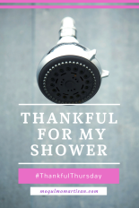 Thankful for MyShower