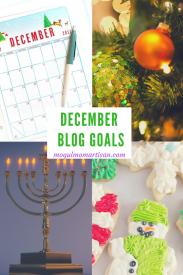 December Blog Goals